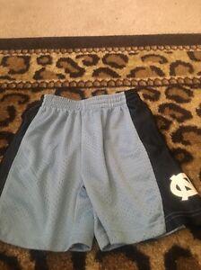 North Carolina Tarheels Toddler Boy's Athletic Shorts Sz 3T Multicolor