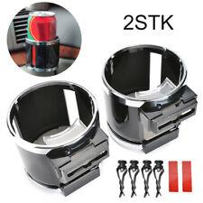 2X Auto Getränkehalter Dosenhalter Becherhalter Kaffeehalter Cup Holder 2in1 DE