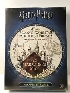 Crown HARRY POTTER The Marauder's Map 1000 Piece Puzzle 8+ yrs B/NEW