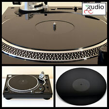 Technics SL1200 - 1210, lenco, audio technica. acrylique platine platter mat