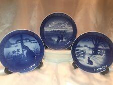 Royal Copenhagen Christmas Porcelain Plates 1968 1970 1971