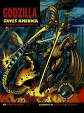 Godzilla Saves America: A Monster Showdown in 3-D!: Includes punch-out 3-D glas