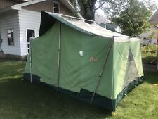 Vtg Coleman Canvas Oasis Tent 13' x 9' with 8'  Peak Hight - 8438A839