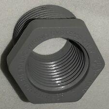 "Bell Non-Metallic Reducer Bushing Gray 3/4 in. 3/4"" NPS 1/2 in. 1/2"" NPT New"