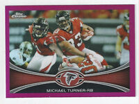 Michael Turner Falcons 2012 Topps Chrome Pink Refractor #130 397/399