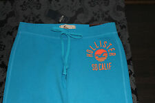 Hollister Ladies Skinny Sweatpants Blue Orange Red Size S or M NEW with label