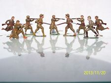 France Lead G.M. (9) 65Mm To 70Mm Ww1 French Infantry Ex