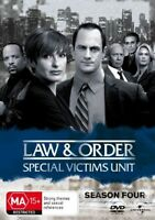 Law And Order SVU - Special Victims Unit : Season 4 DVD : NEW