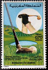 YT 695  MAROC Timbre Neuf ** TTB  GOLF AU MAROC 1974