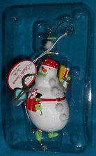 Design Design Weekend Warrior Ornament - Snowman Handyman Ornament in Box - NICE