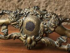 Poignée de Carrosse Louis XIV Bronze XVII ème Antique French Handle 17th