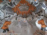 Ancien tissus. Asie 60 X 50 cm