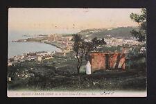 Carte postale ancienne ALGERIE -ALGER et BAB-EL-OUED vus de Notre-Dame d'Afrique