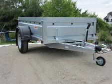 HK  PKW-Anhänger 1.300 kg, 1-achser gebremst, Ladefläche ankippbar 400 mm Bordwä