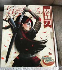 SDCC EXCLUSIVE MATTEL DC SUPER HERO GIRLS KATANA DOLL NEW IN BOX 2016