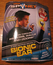 SpyNet Real Tech Bionic Ear NEW NIB super hearing device TOP SECRET christmas