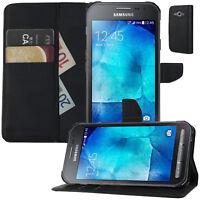 Buch Klapp Tasche Flip Book Schutz Hülle für Samsung Galaxy Xcover 3 SM-G388F