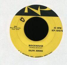 RALPH JEROME Rockhouse on KP Rockabilly 45 Hear