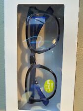 E-Specs Computer Readers in Blue Tortoise  +1.50 Strength New!