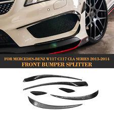 Car Side Lip Fins Moulding Trims Cover Fit for Mercedes Benz CLA250 C117 13-14
