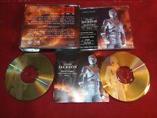 Michael Jackson - History 2 CD Big Box GOLD CDs 1st press - Sticker on case
