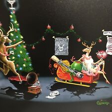 Michael Godard Giclee- Olive the Other Reindeer, 101 of 210