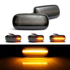 2X Led Side Marker Light Turn Signal Light Blinker Lamp fit For Audi A3 A4 A6