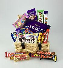 Deluxe Wicker CHOCOLATE Hamper Large Selection Birthday Cadbury Christmas Thanks