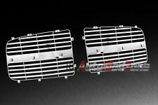 02-05 Dodge Ram Chrome Front Bumper Grille Inner Grid OE Replacement Insert Set