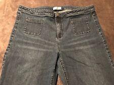 J Jill Denim Womens Blue Jeans Size 18 Full Leg Style Authentic Fit