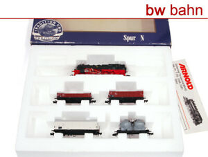 Arnold N 0362 Zug-Set der DR mit Tenderlok BR 95 und 4 Güterwagen, Ep IV
