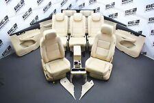 VW Sharan 7N RHD Lederausstattung 7 Sitzer Leder beige Sitzheizung LEDERSITZE