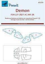 Peewit 1/72 McDonnell F3H-2 Demon # PEE72176