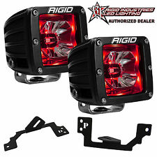 Rigid Radiance LED Fog Light Kit w/ Red Backlight for Dodge Ram 1500 2500 3500