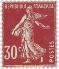 EBS France 1937 - Semeuse fond plein 30 centimes - YT 360 MH*