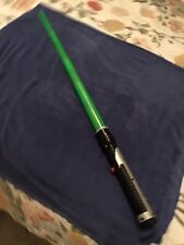 Hasbro lightsaber toy.Luke Skywalker Green