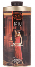 TABU PERFUMED TALC TIN 375GM