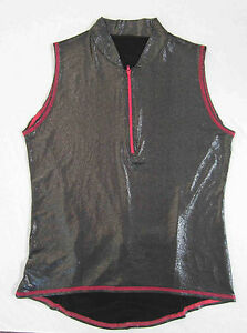 women's bike jersey Fun Fancy cycling top with Shimmer NWOT XS