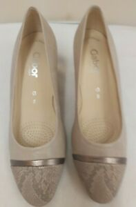 Gabor Soft Leather Heels Shoes Size 5G (D1)