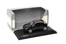1:43 Kyosho Audi A1 black DEALER NEW bei PREMIUM-MODELCARS