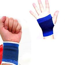 Sport Carpal Tunnel Tendonitis Pain Relief Brace Support for Wrist+Hand Palm Set