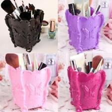 Plastic Case Brush Pen Pencil Case Holder Organizer Makeup Cosmetics Storage WT
