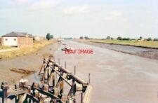 PHOTO  LINCS 1991 DOWNSTREAM (NORTHWARD) VIEW ON RIVER NENE AT SUTTON BRIDGE