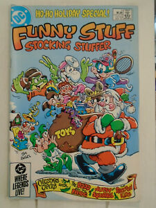 DC Comics FUNNY STUFF STOCKING STUFFER #1 (1985)  Jim Engel Cover