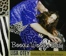 LISA OTEY FEATURING MR. BOOGIE - Boogie Woogie Baby - CD - **Excellent**