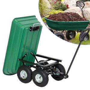 Handwagen Anhänger 300kg Transportkarre kippbar Bollerwagen Gartenwagen Garten