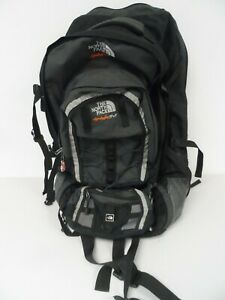 The North Face 75+25 Black/Grey Soft Shell Backpack   Z4