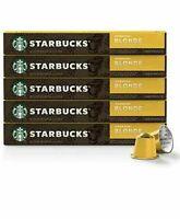 Nespresso Original Capsules 50 Count Starbucks Coffee Blonde Espresso Roast