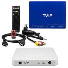 TVIP 605 4K IPTV Box in Weiss ( Stalker Xtream ) Media Player H.265 WLAN Wifi 5G