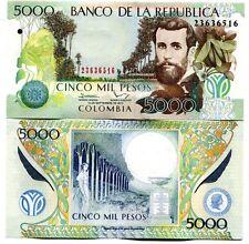 COLOMBIA 5000 PESOS 1-SEP-2013 P-452p UNC